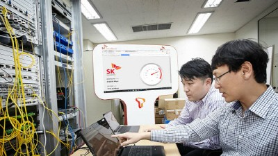 SK브로드밴드, 10기가 인터넷 장비 상호호환성 기술 개발