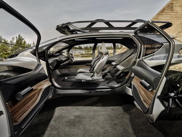 아우디가 제시하는 미래형 차는?