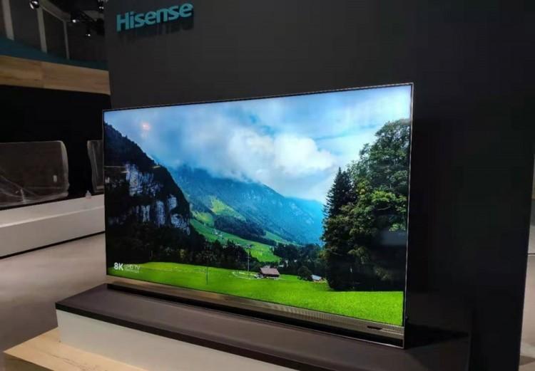 IFA 2019에서 공개한 하이센스 8K ULED XD TV [사진=하이센스 그룹]