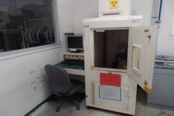 X-ray machine that caused radiation exposure accident (Source: Nuclear Safety and Security Commission)