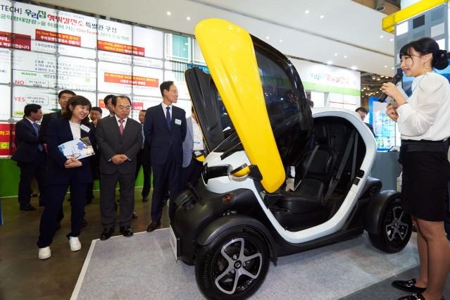 르노삼성자동차, 2019 국제환경·에너지산업전 참가