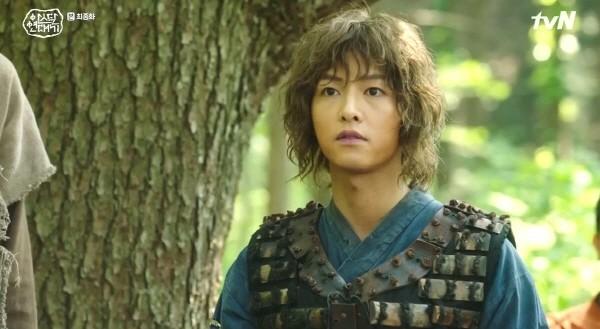 '아스달 연대기' 스틸사진. 사진=tvN 방송 캡처