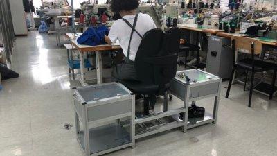 SBA, 동대문-성북 의류봉제 소공인에 봉제의자 보급…내달 중순까지 33개사 순차공급