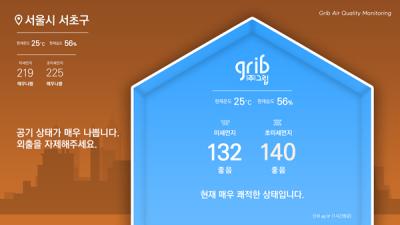 [IoT Korea 2019] 그립, 미세먼지 관리 및 스마트 스토어 융합 서비스 솔루션 소개
