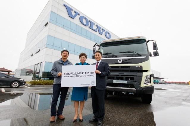 볼보트럭, 국내 수입 상용차 브랜드 최초 2만5000대 판매 달성