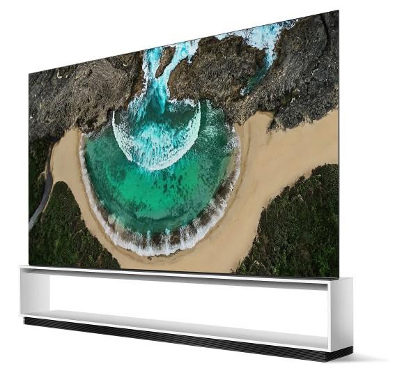 LG 시그니처 올레드 8K TV 제품 이미지.