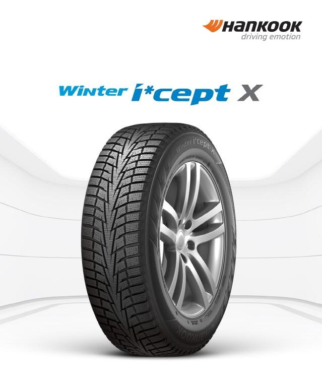 한국타이어, 겨울용 SUV 타이어 '윈터 아이셉트 X' 출시