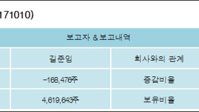 [ET투자뉴스][램테크놀러지 지분 변동] 길준잉 외 8명 -1.46%p 감소, 39.92% 보유