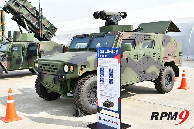 기아차·현대로템, 서울 ADEX서 차세대 군용 장비 대거 선보여