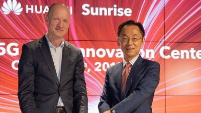 [국제]화웨이-선라이즈, 유럽 최초 '5G 이노베이션 센터' 공동 설립