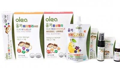 [44회 유교전] 아주약품 '올레아', 어린이 건강식품 '올키' 선보일 예정