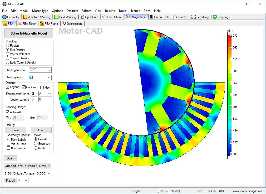 전기 모터 설계 소프트웨어 도구 모터-캐드, 이미지제공=앤시