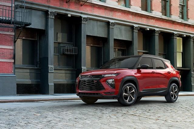 쉐보레, 중소형 SUV 트레일블레이저에 고효율 엔진 얹는다