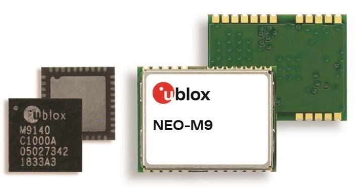 유블럭스 GNSS 플랫폼 M9이 탑재된 NEO-M9 모듈, 자료제공=유블럭스