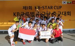 KB국민은행, 제 1회 'KB Star Cup 축구대회' 개최