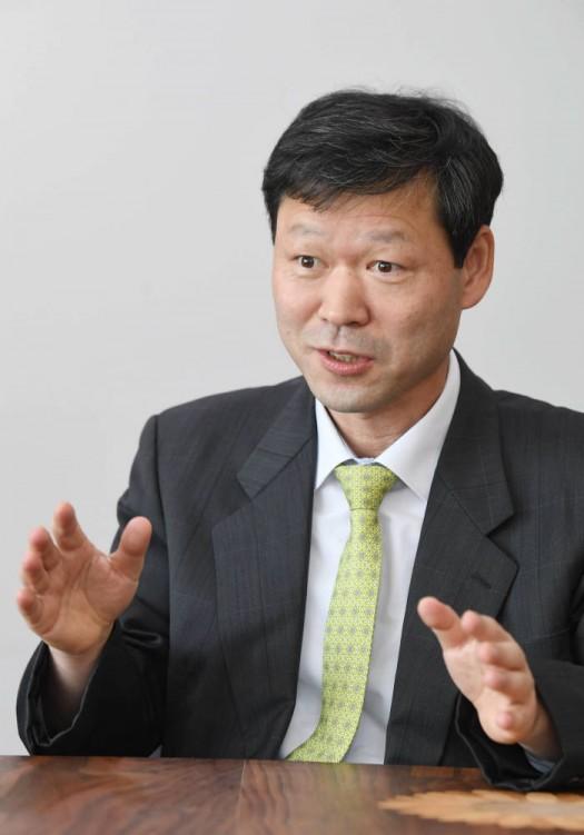 김동섭 신성이엔지 사장. 김동욱기자 gphoto@etnews.com