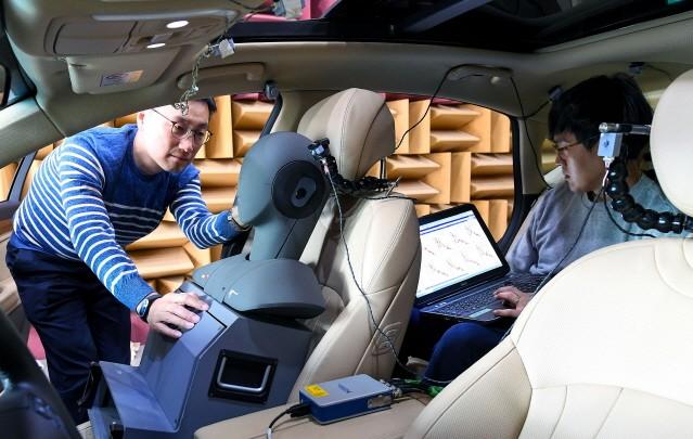 현대차그룹, '첨단 노면소음 저감 기술' 제네시스 GV80에 적용한다