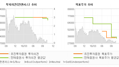 "[ET투자뉴스]애경산업, ""4 분기 낮은 기저…"" BUY(유지)-유진투자증권"