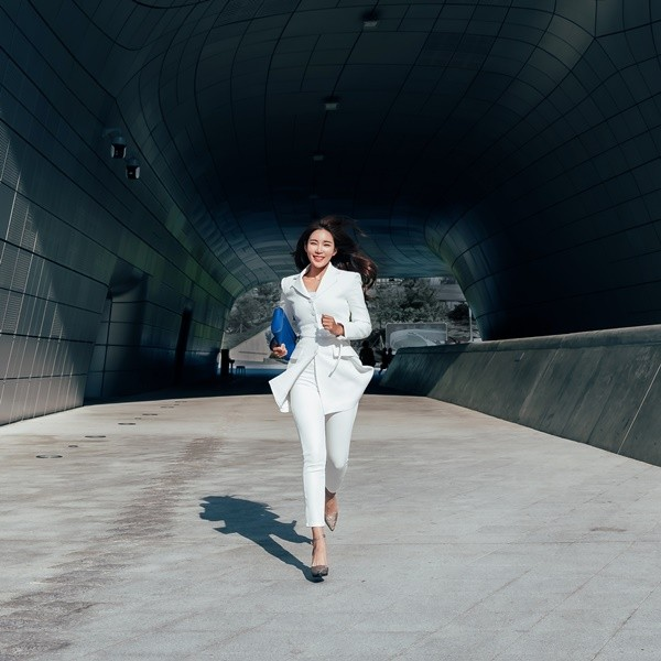 운동하는 아나운서, 박지혜 '1일1러닝 기부런' 목표금액 309% 달성