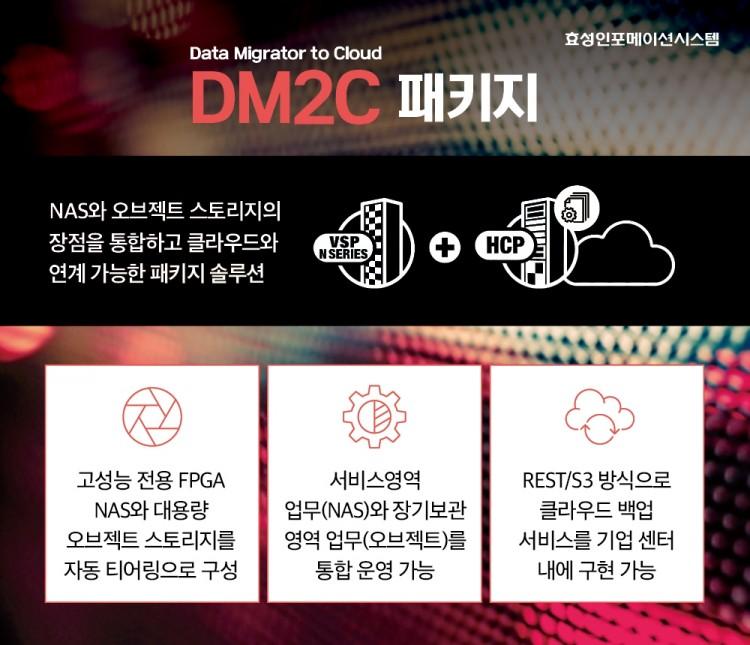 효성인포메이션시스템, DM2C 패키지
