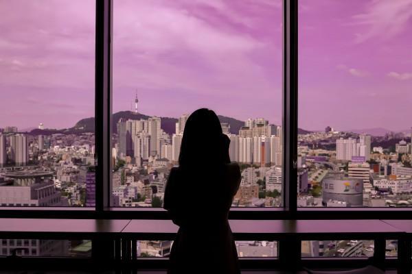 한국마사회 장학관 내부, 탁트인 전경