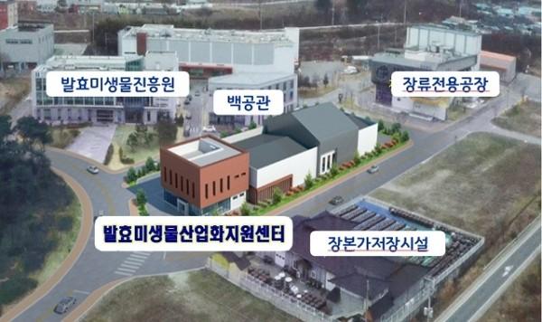 순창군, 80억 들여 '발효미생물산업화지원센터' 착공