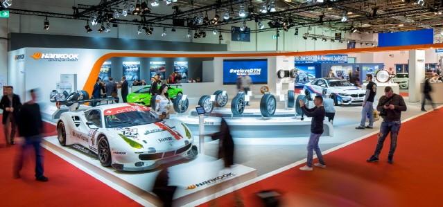 한국타이어, '2019 에센 모터쇼'에서 초고성능 타이어 전시