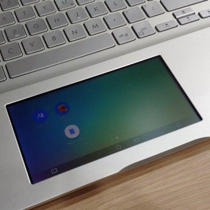 컴퓨텍스 2019 현장에서 확인했던 에이수스 비보북 S의 터치패드