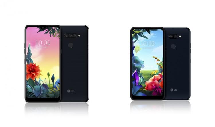 (왼쪽부터)LG K50S, LG K40S [사진=LG전자]