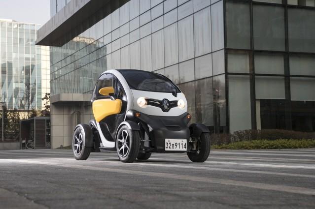 르노삼성, '2019 초소형 전기차 로드쇼'에 르노 트위지 참가
