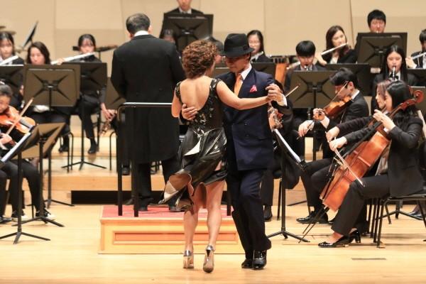 '분당청소년오케스트라 창단 10주년 기념 음악회' 공연사진. 사진=분당청소년오케스트라 제공