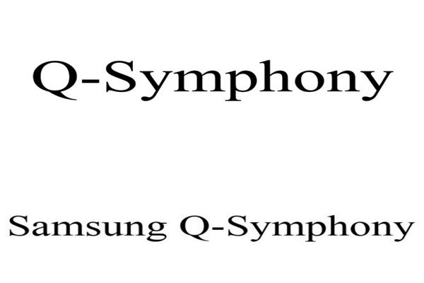 Samsung Electronics applied for trademark rights on Q-Symphony and Samsung Q-Symphony through patent offices in South Korea and the U.S.