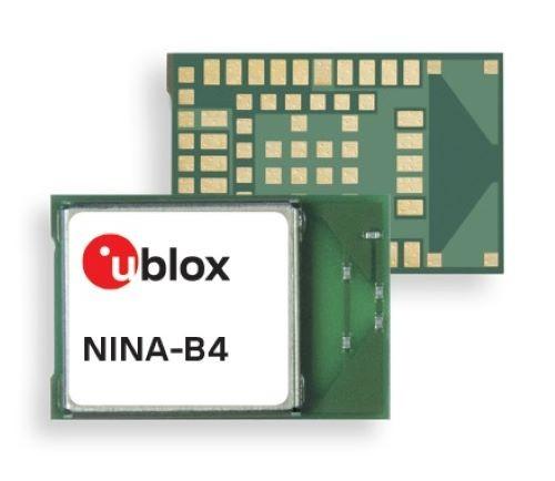 유블럭스 NINA-B4 블루투스 저전력 모듈(BLE) 시리즈