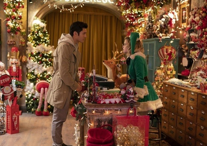 [ND리뷰] 런던에서 썸타면 이런 기분? 영화 '라스트 크리스마스'