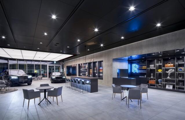 롤스로이스모터카, 블랙 배지 테마의 '판교 라운지' 오픈