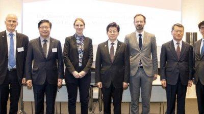 조명래 환경부장관, 제9차 한-덴마크 녹색성장동맹회의 참석...순환경제의 전환 필요성 강조