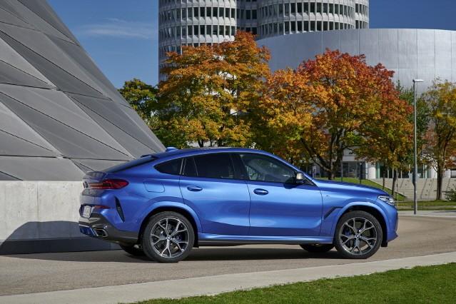 BMW, 첨단 기술로 업그레이드된 '뉴 X6' 출시