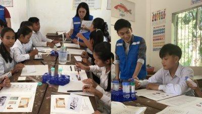 지스트 국제환경연구소, 캄보디아서 환경교육 캠프 진행