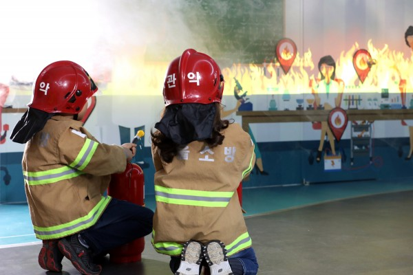 소방청이 AR 콘텐츠를 도입한 소방안전 테마파크를 23일부터 개장한다(사사진 : 소방청 제공)