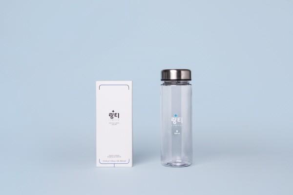 사진 설명 : 링티1포와 물500ml로 어디서나 간편하게 섭취가 가능하다 (이미지제공=링티)