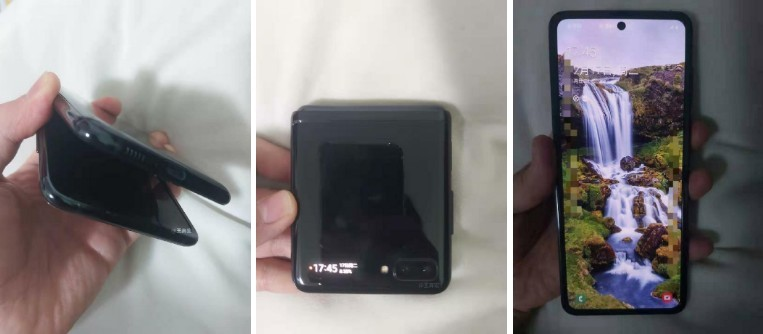 웨이보에서 발견된 갤럭시 폴드 이미지 [사진=웨이보]
