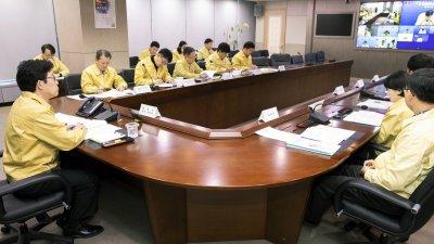 환경부, 미세먼지 재난대응 합동 점검회의...실외활동 자제, 마스크 착용