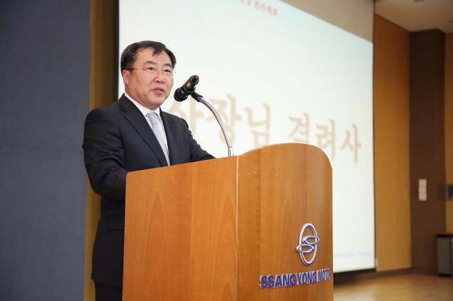 """쌍용자동차 예병태 사장 """"경영정상화 조속히 이룰 것"""""""