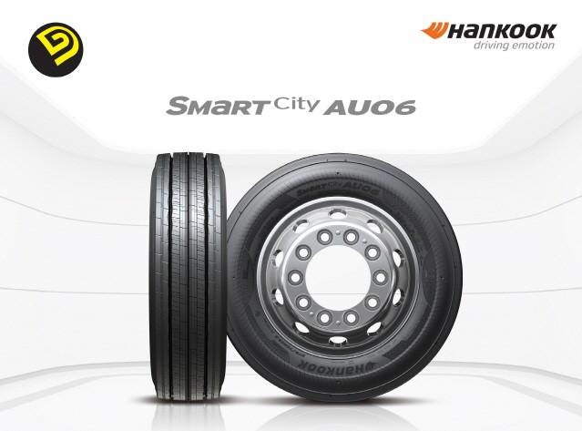 한국타이어, 전기버스 전용 타이어 '스마트시티 AU06' 출시