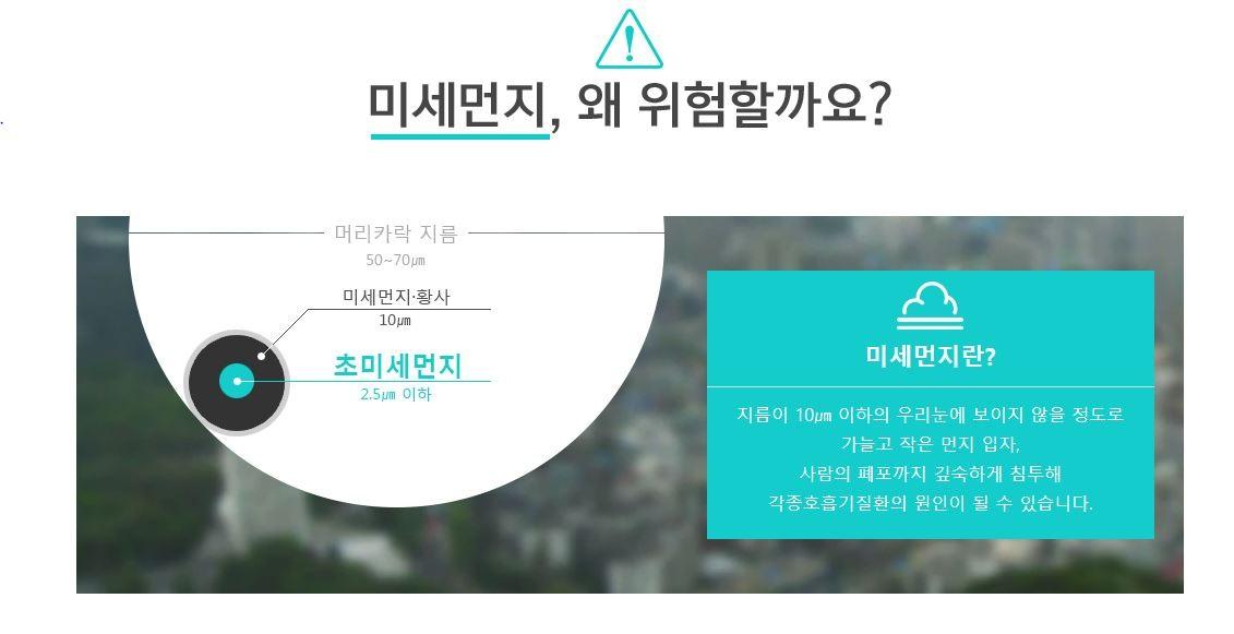 서울시 미세먼지정보센터에서 알려주는 미세먼지 정보