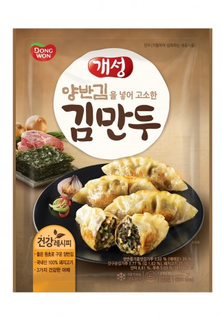 동원F&B 양반김 넣은 개성 김만두 출처=동원그룹