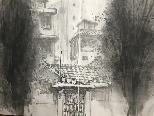 박창열, 대방동 골목 정경