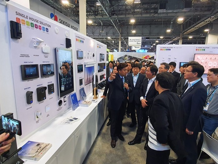[CES 2020] COMMAX Selected as 'Top5 Korean Products of CES 2020' with Smart Home Service Experience