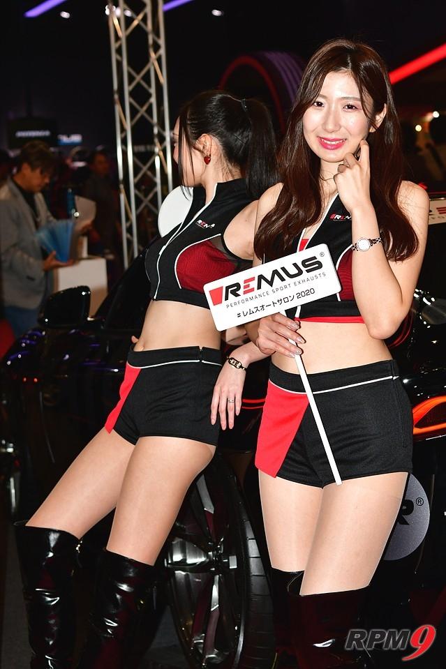 [포토] 도쿄 오토살롱의 미녀들