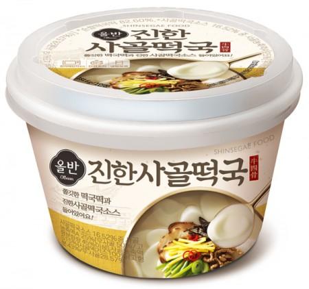 신세계푸드 '올반 진한 사골떡국' 출처=신세계푸드